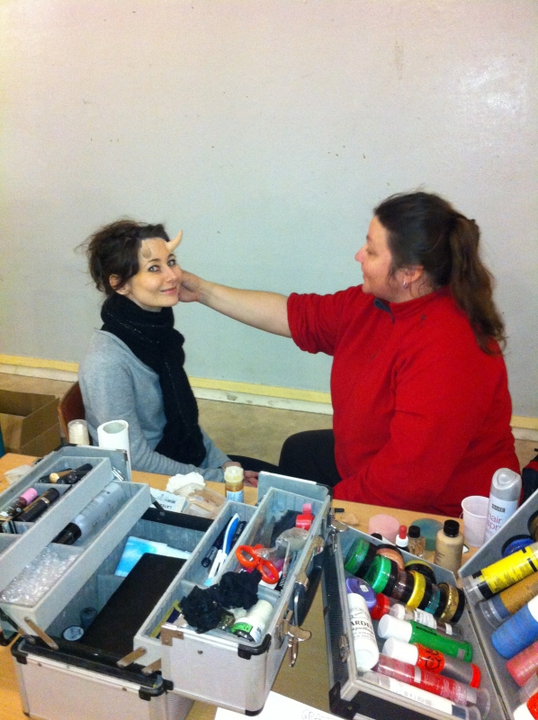 Animation - stand maquillage